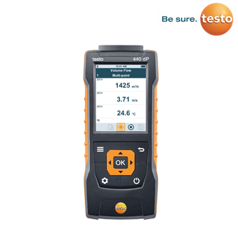 testo440 Air Velocity and IAQ measuring instrument