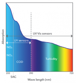 Ultraviolet and visible spectrum